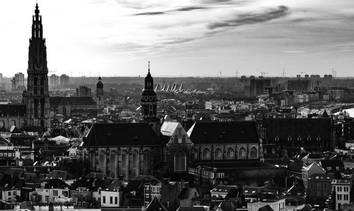Stadsgezicht, Antwerpen, België