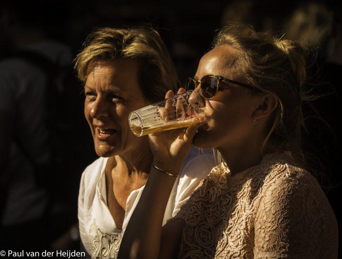 Biertje in het zonnetje