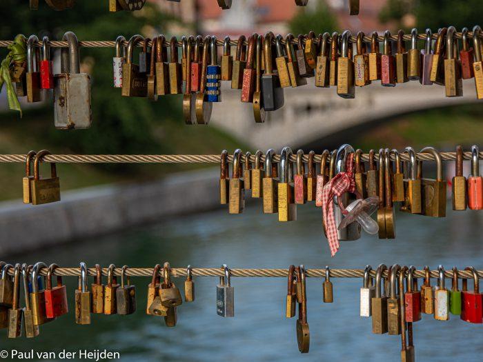 Slagersbrug in Ljubljana